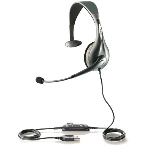 Jabra UC VOICE 150 Mono Corded Headset for Softphone