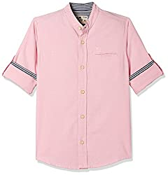 Flying Machine Boys  Plain Regular Fit Shirt
