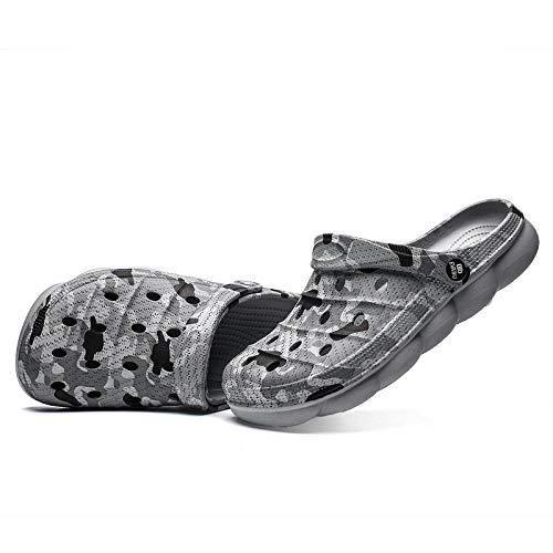 comodi sandali da esterno Zoccolo,Pantofole da uomo per esterno per diapositive,zoccoli estivi per pulizie domestiche da donna sandali,slider per coppie più taglie,pantuflas leggeri,mulo per la casa