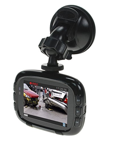 "Yada (BT54329M-2) Matte Black 2.4"" Dash Road HD Camera"