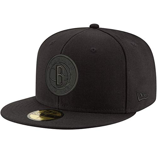 New Era 59Fifty Cap - NBA Black Brooklyn Nets - 7 1/4