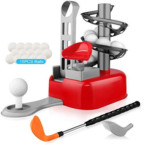 Blasland Kids Golf Toys Set - Outdoor Lawn Sport Toy,...