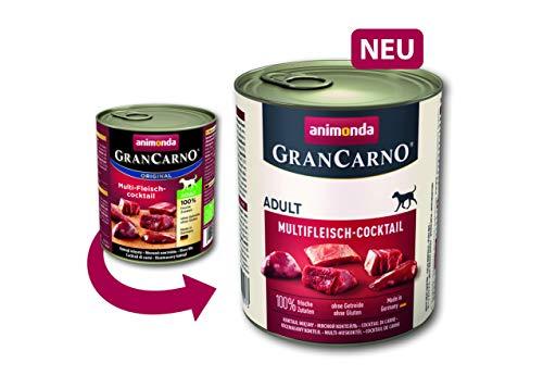 Animonda Gran Carno Hundefutter Adult Probierpack Adult Mix 2 (6 x 800 g) - 3
