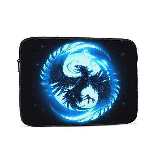 Blue Phoenix Funda para portátil, Bolsa de Transporte Funda para Chromebook Funda para portátil Funda para Tableta, 15 Pulgadas