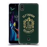 Head Hülle Designs Offizielle Harry Potter Slytherin Quidditch Deathly Hallows X Soft Gel Handyhülle Hülle Huelle kompatibel mit LG K20 (2019)