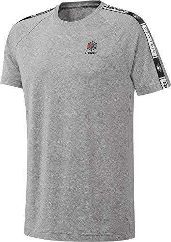 Reebok DT8146 Camiseta, Gris, XS para Hombre