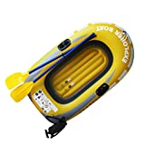 TOYANDONA Inflatable Boat Floating Island Raft Inflatable Water Float Pool Float Swimming Pool