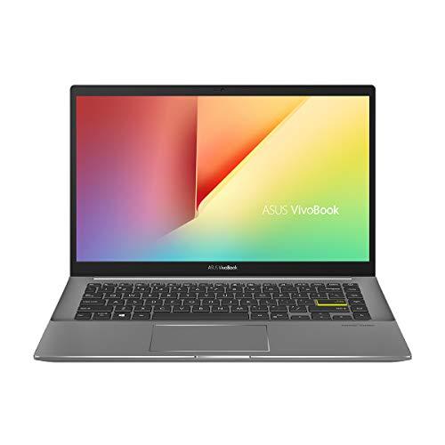 "ASUS VivoBook S14 M433IA-EB069 - Ordenador portátil de 14"" FullHD (Ryzen7-4700U, 16GB RAM, 512GB SSD, Radeon Graphics, Sin sistema operativo) Negro - Teclado QWERTY Español"