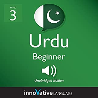 Learn Urdu - Level 3: Beginner Urdu audiobook cover art