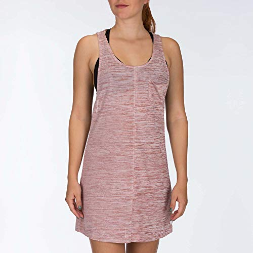 Hurley W Glow Knit Dress Robes Femme, Dusty Peach, FR : S (Taille Fabricant : S)
