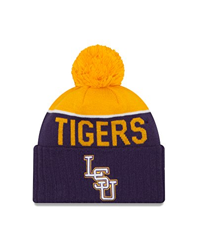 NCAA LSU Tigers Ne 15 Sport Cuff Knit Beanie, Purple, One Size