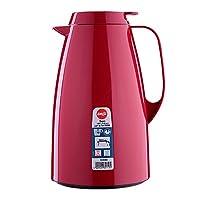 emsa basic caraffa termica, chiusura quicktip, rosso, 1,5 litri