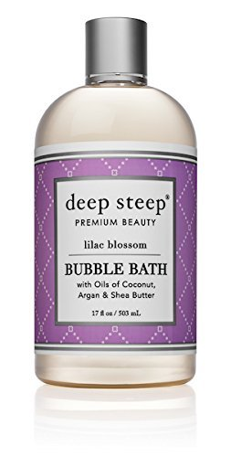 Deep Steep Classic Bubble Bath, Lilac Blossom, 17 Fluid Ounce