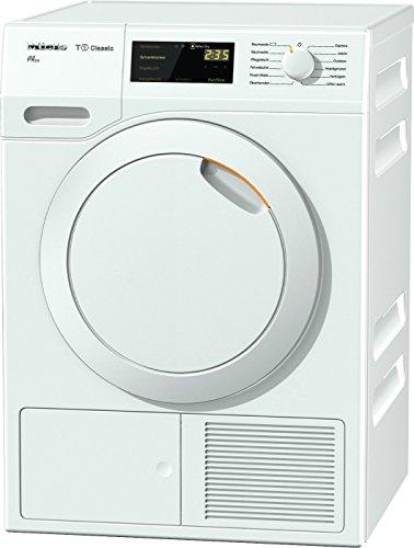 Miele TDB 110 WP Active Wärmepumpentrockner mit geringem Energieverbrauch & Trocknungszeit/Energieklasse A++ (211 kWh/Jahr)/Trockner (7kg) mit Knitterschutz/schonender Wäschetrockner/weiß