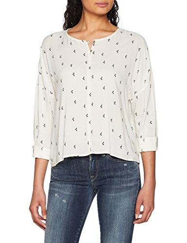 Mavi Damen Blouse Bluse, Beige (Tofu Printed 27091), Medium