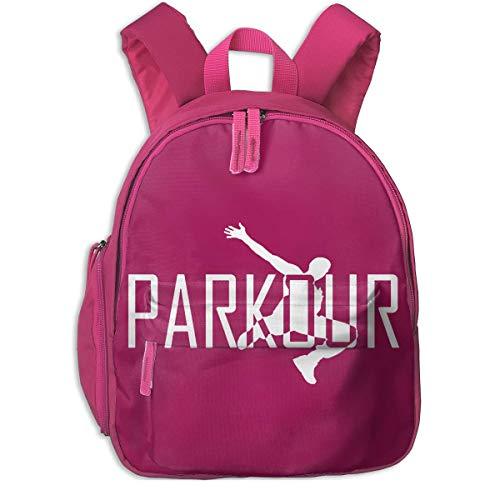 ADGBag Kinder Rucksack Full-Size Printed Parkour Art Pocket Backpacks Backpack Schoolbag for Childrens Kids Children Boys Girls