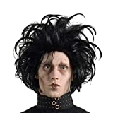 Rubie's Edward Scissorhands Adult Costume Wig, Black, One Size