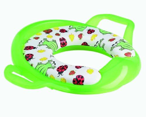 Babymoov 094115 - Komfort WC-Sitz mit Griffen Frosch