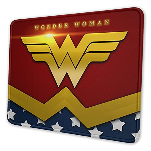 Gaming Mouse Pad, Computer Mouse Pad, Comfortable Mouse Pad, Non-Slip Rubber Base Mousepad for All Types Mouse (Wonder-Woman)
