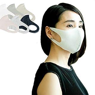 T.I.S 日本製 吸水速乾 洗える 接触冷感 マスク 3枚組 小さめサイズ プリントB