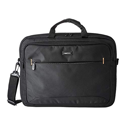 Amazon Basics 17.3-Inch HP Laptop Case Bag, Black, 1-Pack