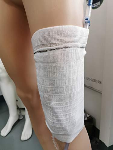 Funda para bolsa de pierna de catéter, funda para bolsa de orina, transpirable y ultrasuave (L)
