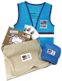 Auberge Terra Children Kids Costumes Pretend Dress Up Role Play Sets (Postman)