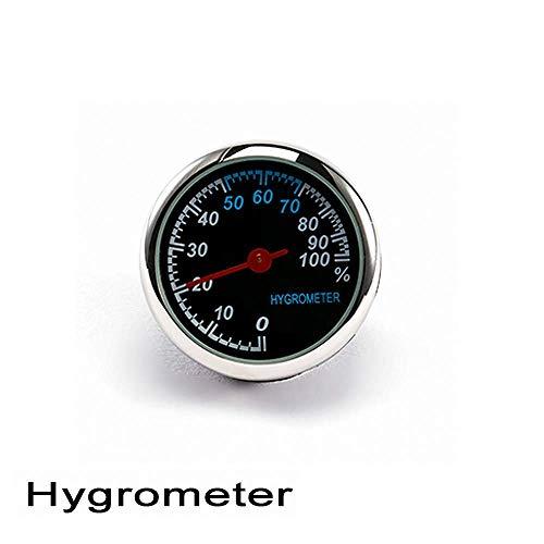 HFJKD Auto Digital Thermometer/Uhr/Hygrometer Ornament Auto Uhr Quarzuhr Zeiger Klimaanlage Auslassclip