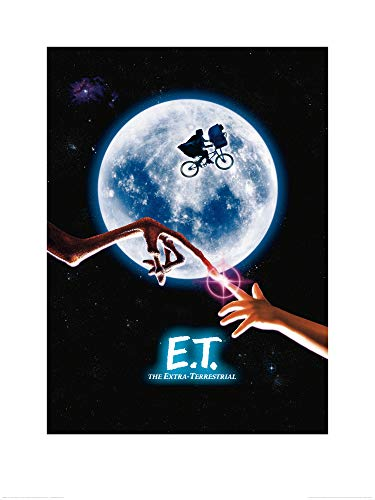 1art1 E. T. - El Extraterrestre - Cartel De Cine Póster Impresión Artística (80 x 60cm)