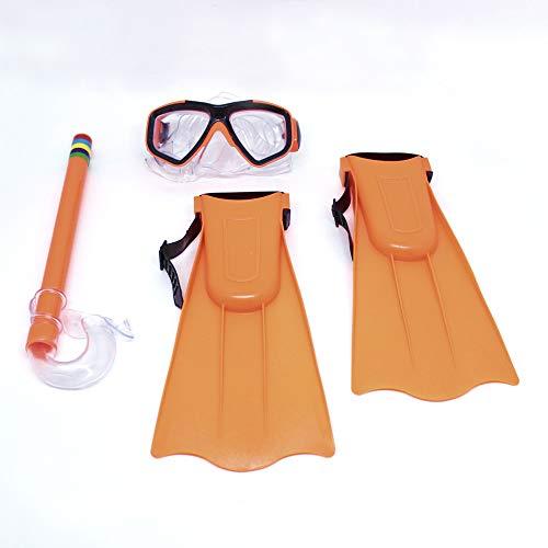 Kit Snorkel com Mascara e Nadadeiras Bel Fix