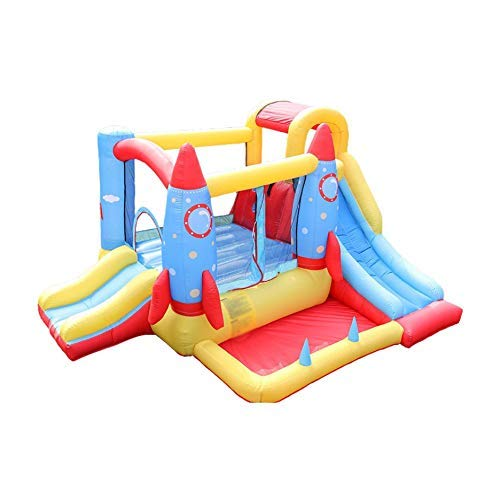 Zhihao Aufblasbare Trampoline Kombination Slide Indoor- und Outdoor-Frech Castle Oxford Cloth aufblasbares Dia
