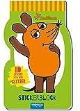 Stickerblock 'Die Maus': 4 Seiten mit 110 Stickern