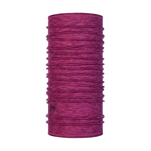 Buff Merino Lightweight Schlauchtuch für Damen, Merinowolle, Dunkelrosa (Raspberry), Einheitsgröße