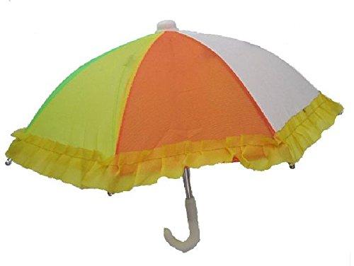 Mondial-fete - Mini ombrelle multicolore 28 cm