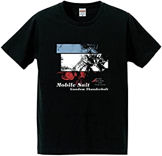【映画グッズ】機動戦士ガンダム サンダーボルト DECEMBER SKY MS-06R柄 Tシャツ(Lサイズ)