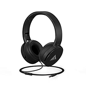 Boult Audio Bass Buds Q2 Over-Ear Wired Lightweight Stereo Headphones, Deep Bass & in-Built Mic, Headset with…