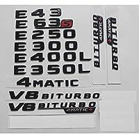 メルセデスベンツW212 W213 E43 E63 E55 AMG E200 E220 E250 E300 E320 E350 E400 4MATIC、スターエンブレムバッジ