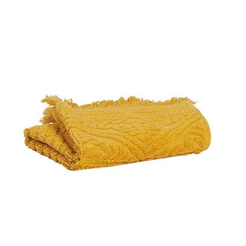 Vivaraise - Drap de Douche Zoé – 70x140 cm – Serviette de Plage, Spa, Piscine, hammam – Tissu éponge Absorbant – 100% Coton – Motif Jacquard