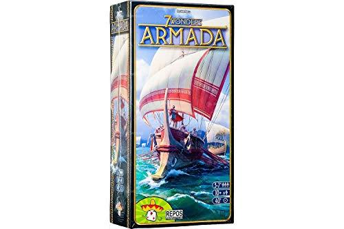 Asmodee- 7 Wonders Armada espansione Gioco da Tavolo, Colore, 8038