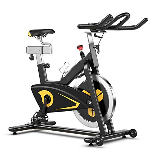 Goplus Magnetic Belt Drive Spin Bike Under $500