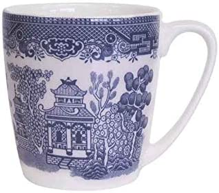 Churchill Over item handling ☆ Blue Willow Acorn 6 Ranking TOP4 Set Mug of