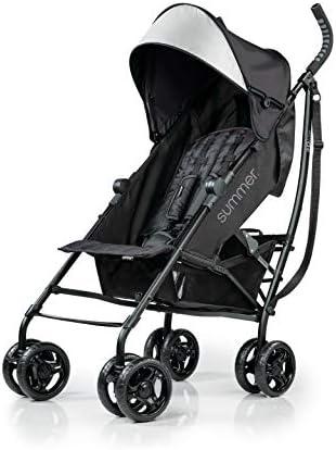 Summer 3Dlite Convenience Stroller Jet Black Lightweight Stroller with Aluminum Frame Large product image