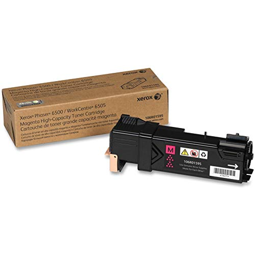 Xerox Phaser 6500/ WorkCentre 6505 Magenta High Capacity Toner Cartridge (2,500 Pages) - 106R01595