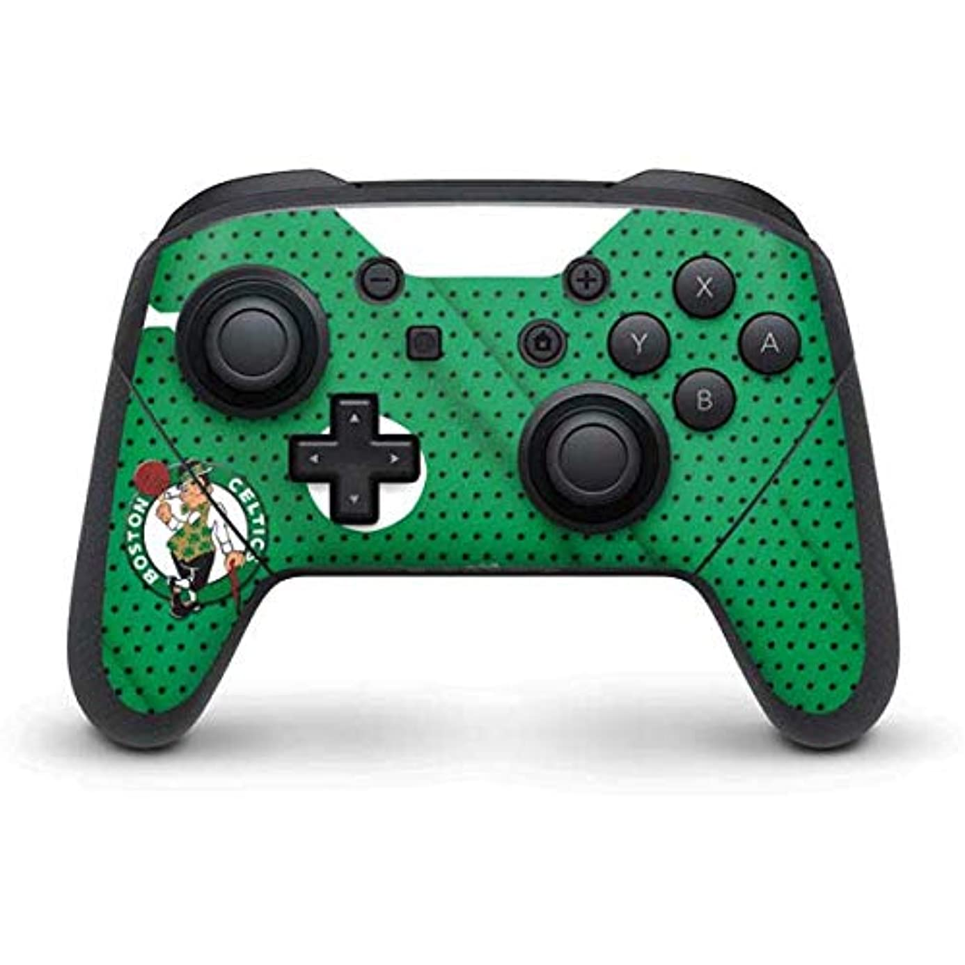 Skinit Boston Celtics Nintendo Switch Pro Controller Skin - Officially Licensed NBA Gaming Decal - Ultra Thin, Lightweight Vinyl Decal Protection