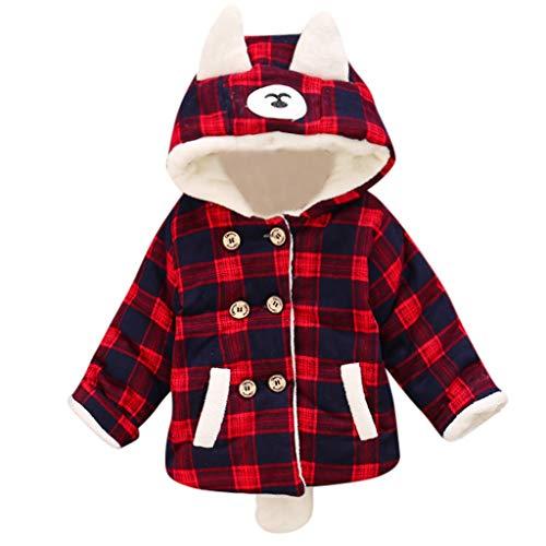 Ragazza Giacca Giubbotto Piumino Invernale Cappotto Bambini Parka Lungo Caloroso Jacket Coat