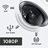 VicTsing IP Wireless Security Camera 1080P, Outdoor/Indoor Wireless Security Camera with 2-way Audio/Night
