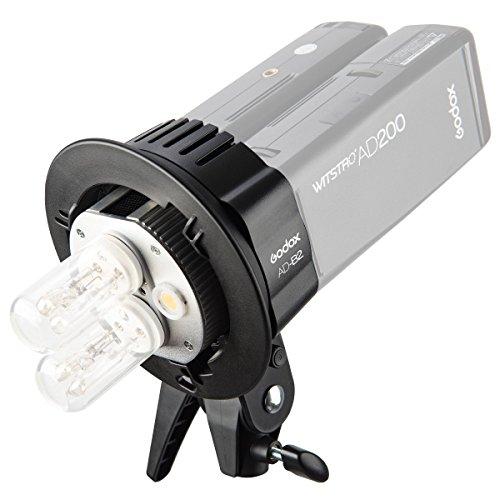 Godox Witstro AD-B2フラッシュヘッド デュアルパワー 400W強力パワー Godox AD200フラッシュライト用