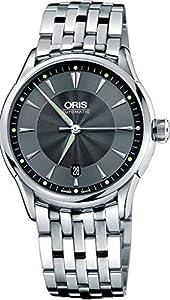 Oris Artelier Date Stainless Steel Automatic Mens Watch 733-7591-4054MB