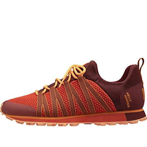 Helly Hansen Mountain Lifestyle, Zapatillas de Running para Asfalto Hombre, Naranja (Oxblodd/Cherry Tomato), 40.5 EU