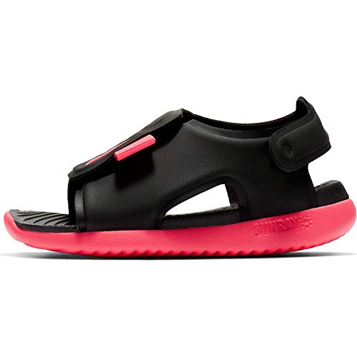 Nike Unisex Sunray Adjust 5 (Td) Dusch- & Badeschuhe, Schwarz (Black/Racer Pink/White 000), 41.5 EU